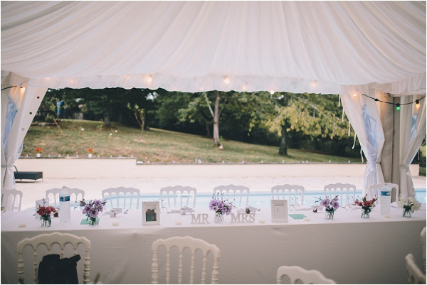 Wedding marquee France, image by Blondie Photography