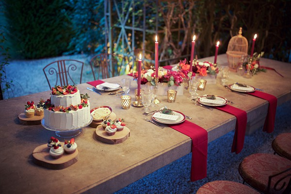boho rustic wedding details