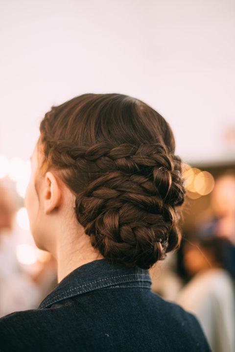 bridal braid maze