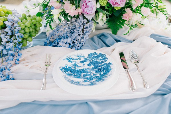 french inspired wedding details