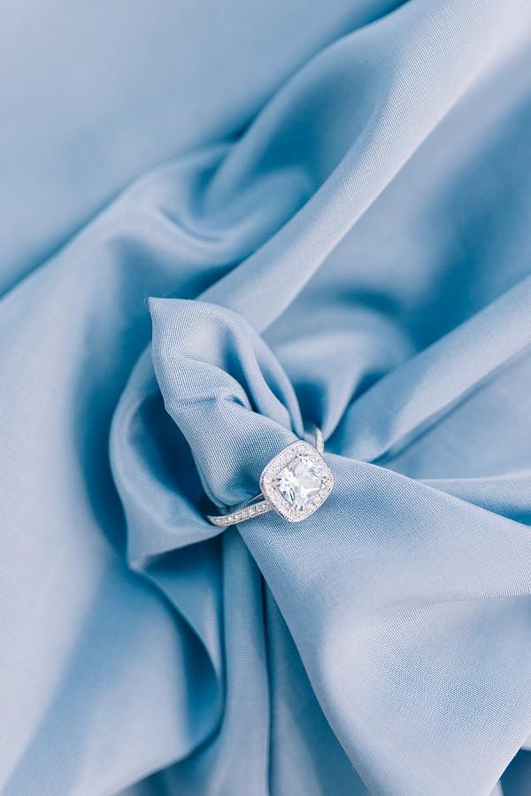 square diamond wedding ring