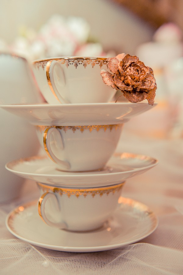 vintage wedding afternoon tea