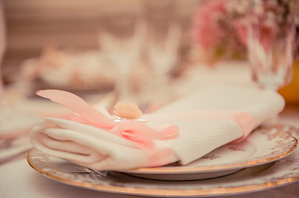 vintage wedding crockery