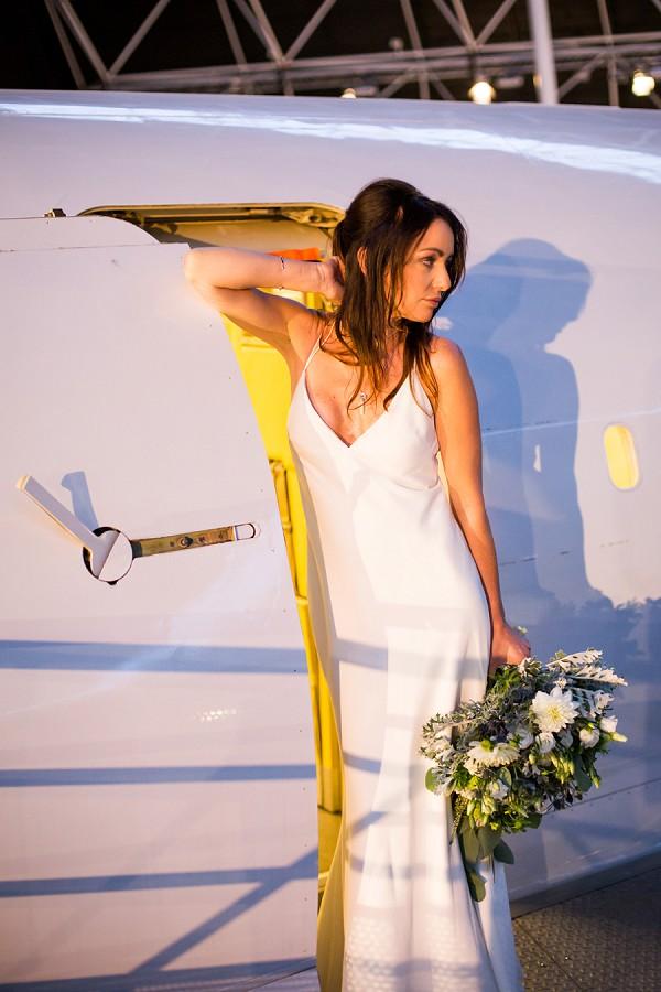 Aeroplane Inspired Wedding