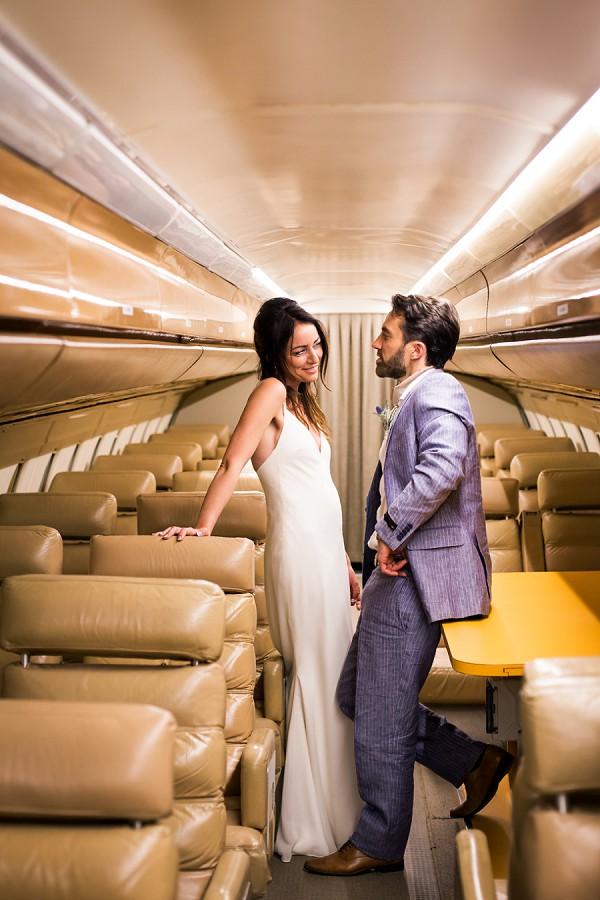 Aeroplane Wedding