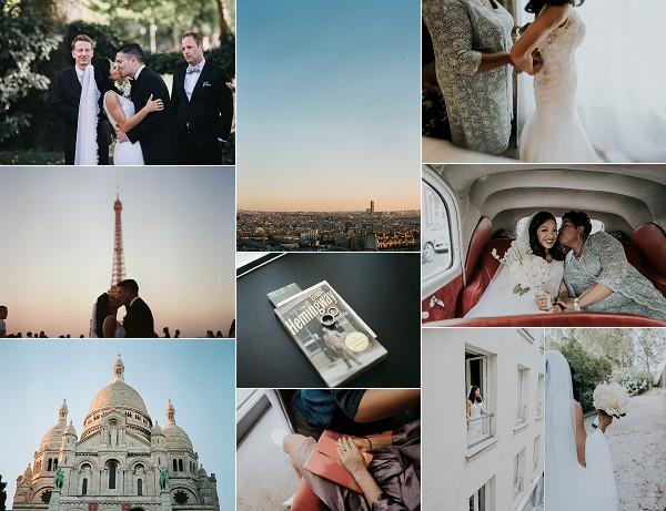 An Outdoor Parisian Real Wedding Snapshot