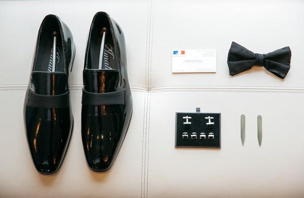 Black Tie Groom Details