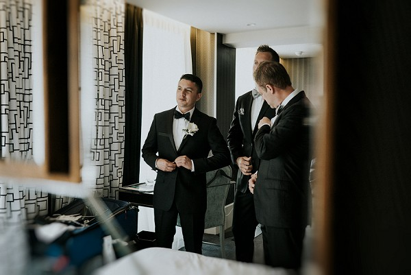 Black Tie Paris Wedding