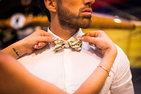 Bow Tie Wedding Outfit
