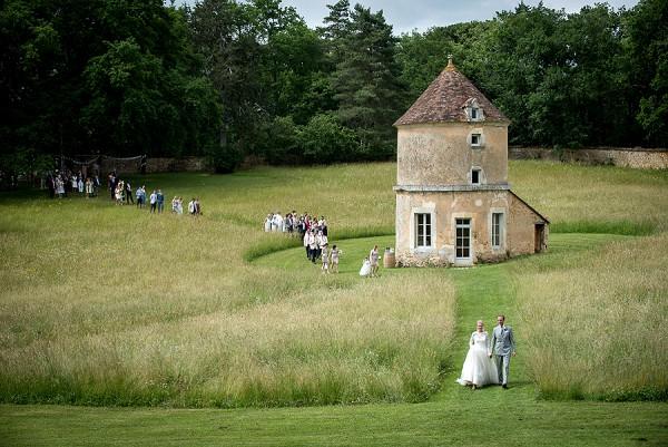 Domaine de la Léotardie Real Wedding