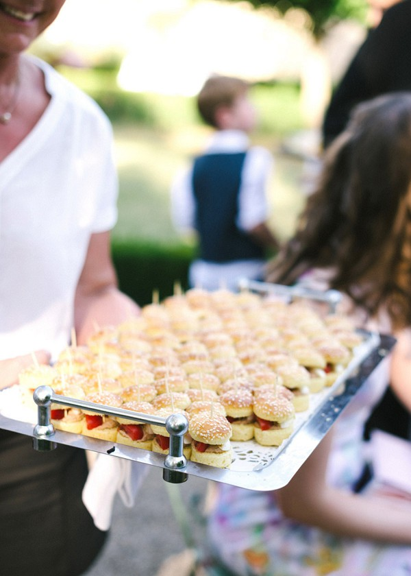 French Wedding Canapes