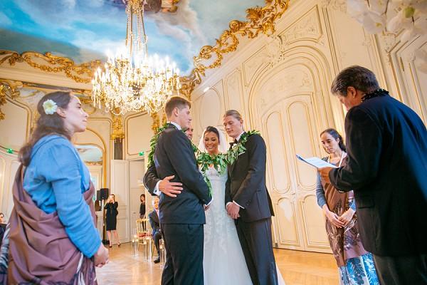 Hawaiian Inspired Ceremony