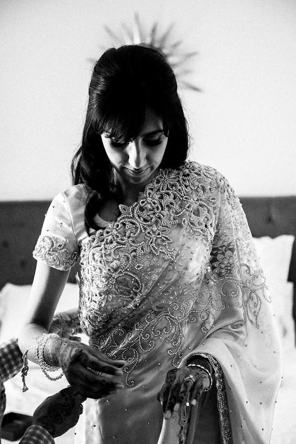 Henna bride