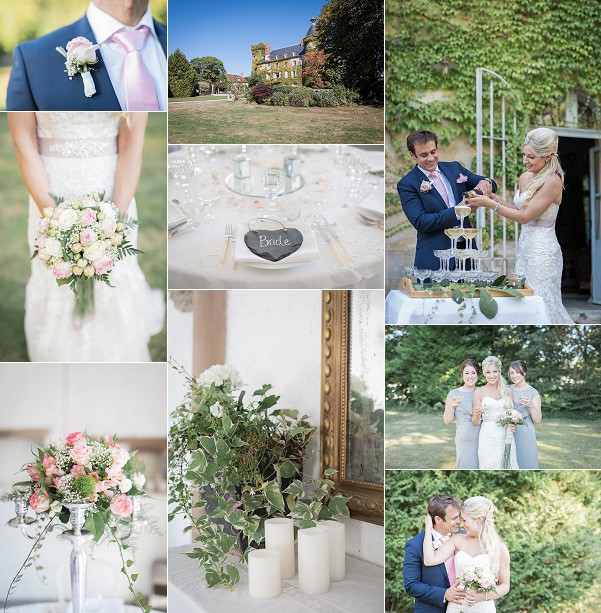 Maggie Sottero For A Chateau du Ludaix Wedding Snapshot