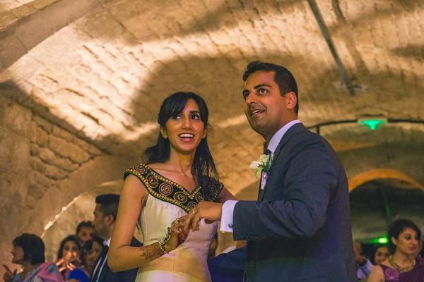 Multi Cultural French Wedding Dance