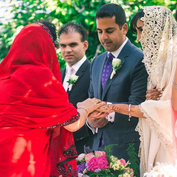 Multi Cultural French Wedding