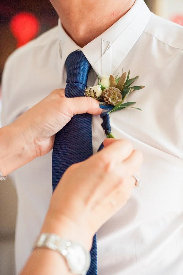 Navy wedding theme