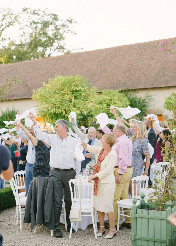 Outdoor French Chateau Wedding