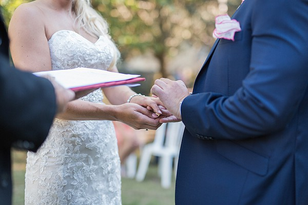 Outdoor ceremony French Wedding