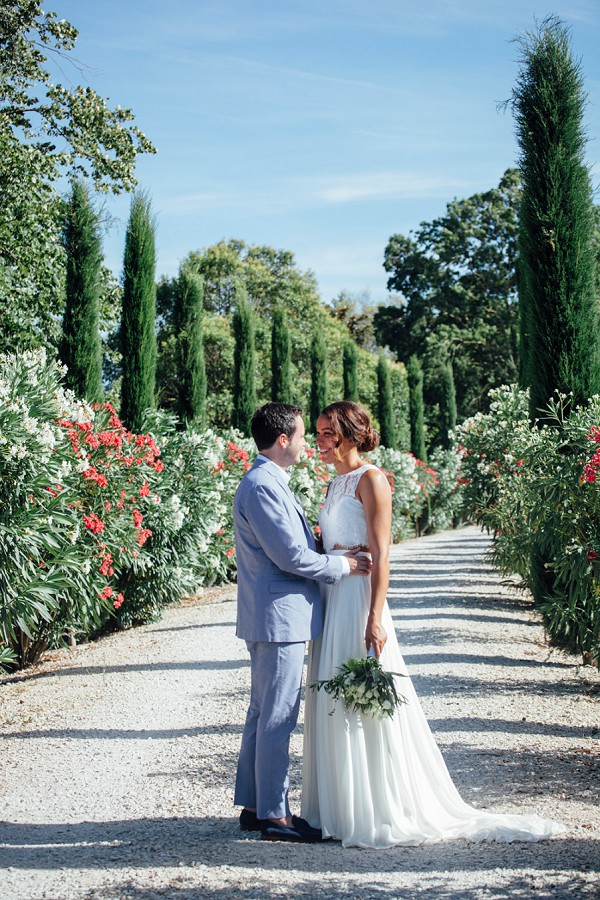 Provence Bride and Groom
