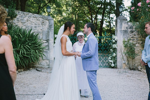 Provence Outdoor Wedding Ceremony