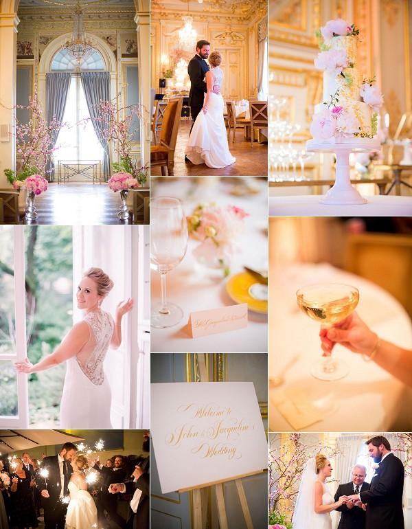 Romantic Destination Shangri La Paris Wedding Snapshot