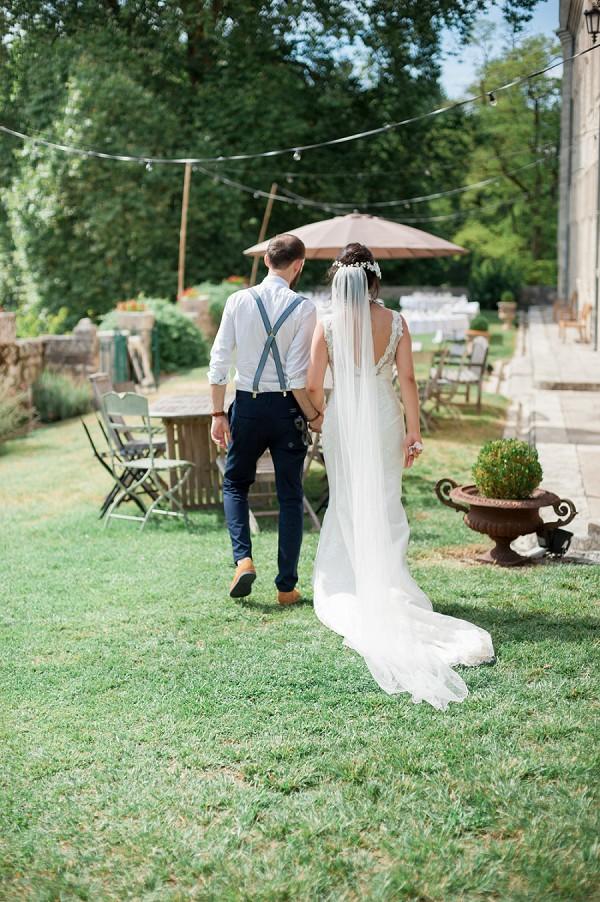 South West France Chateau Wedding