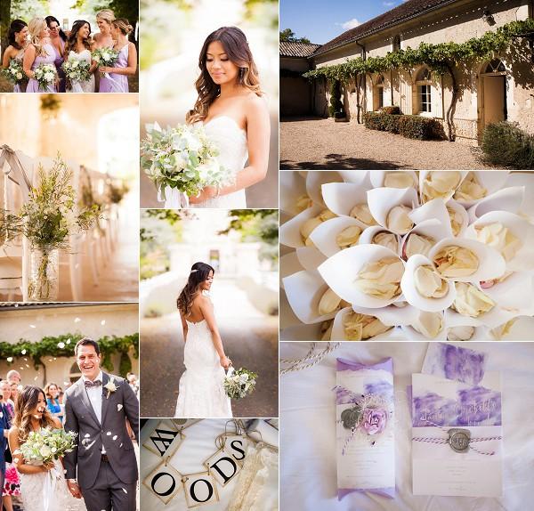 South West France Dordogne Vineyard Wedding Snapshot