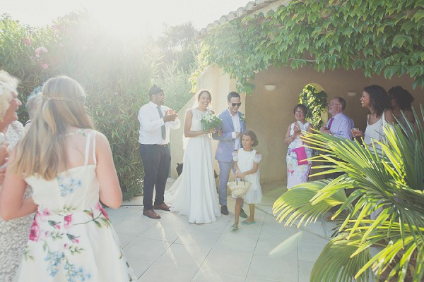 South of France Real Wedding