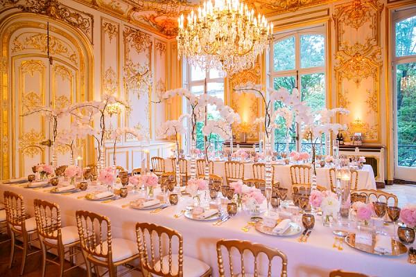 four course culinary wedding dinner