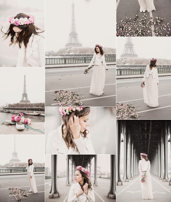 A Parisian Ballet Inspired Wedding Photoshoot Snapshot