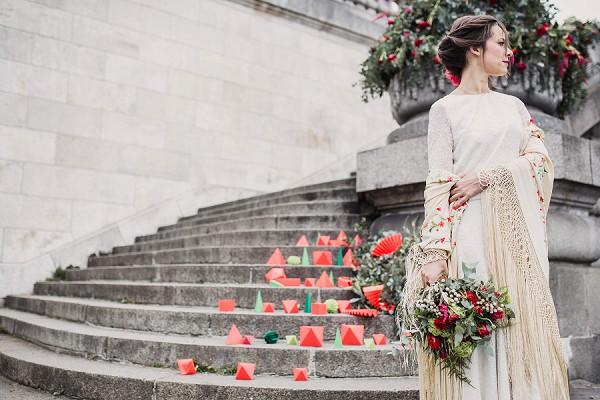 Ballet Inspired Wedding Paris