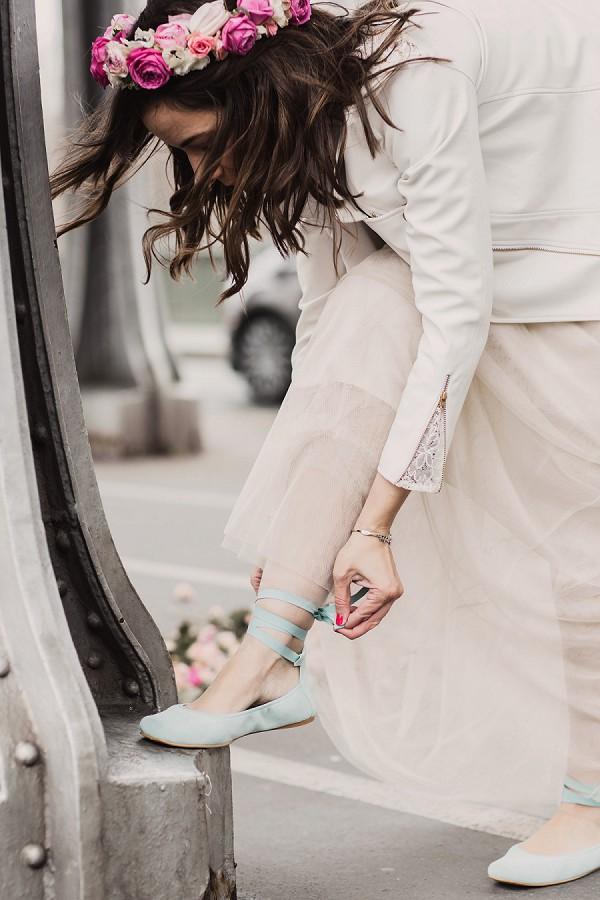 Ballet shoes wedding