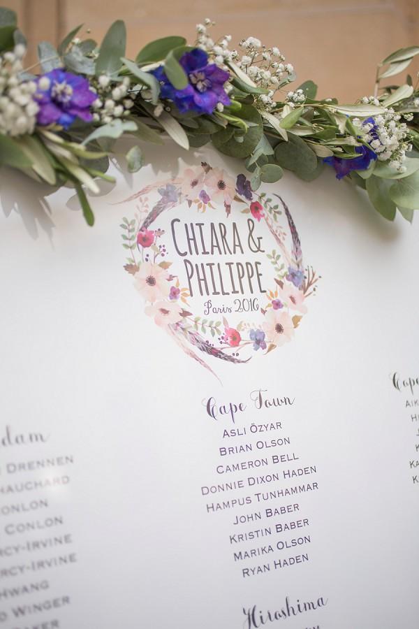 Elegant Paris wedding