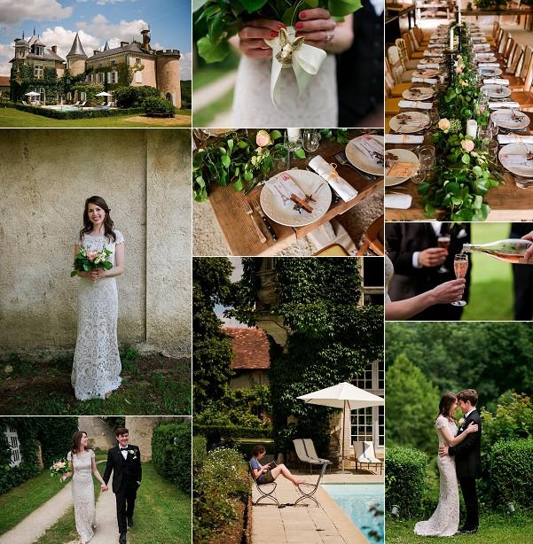 French Countryside Weekend Wedding Snapshot
