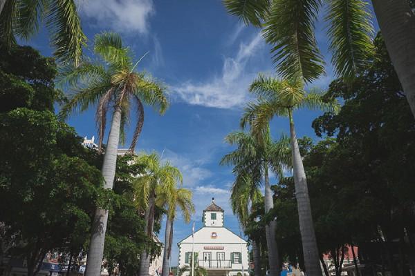 French Wedding Tropical Island