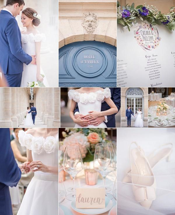 International Inspired Hôtel d'Evreux Wedding Snapshot