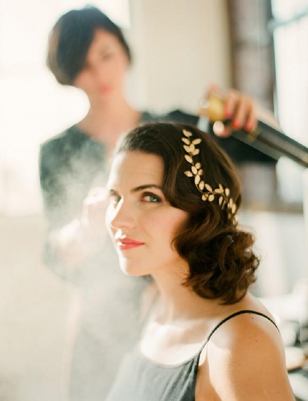 Leaf Wedding Hairpiece