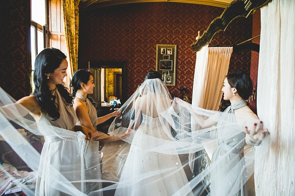 WANDERLUST INSPIRED CHATEAU DE CHALLAIN WEDDING