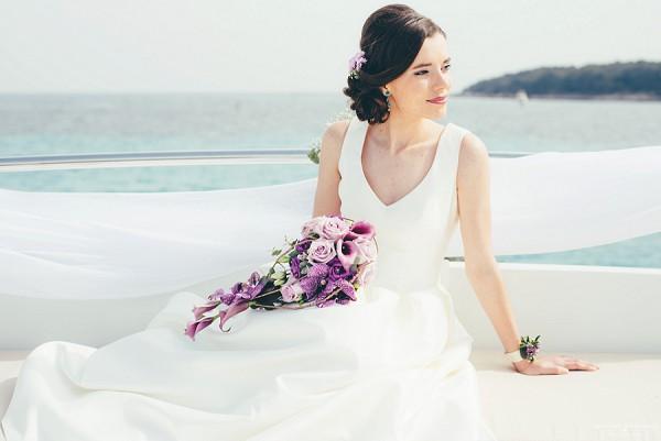 Luxury Cannes Yacht Wedding Inspiration