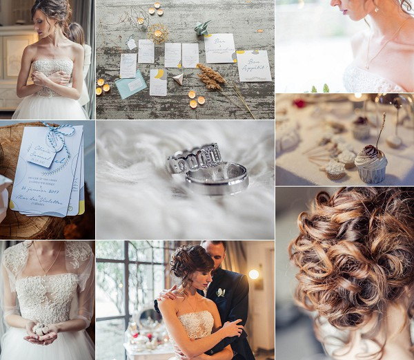 Montpellier Winter Wedding Inspiration Shoot Snapshot