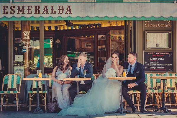 Paris Cafe Wedding