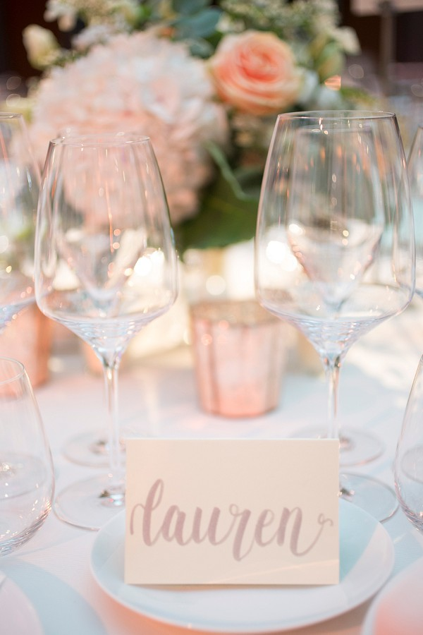 Peach wedding theme