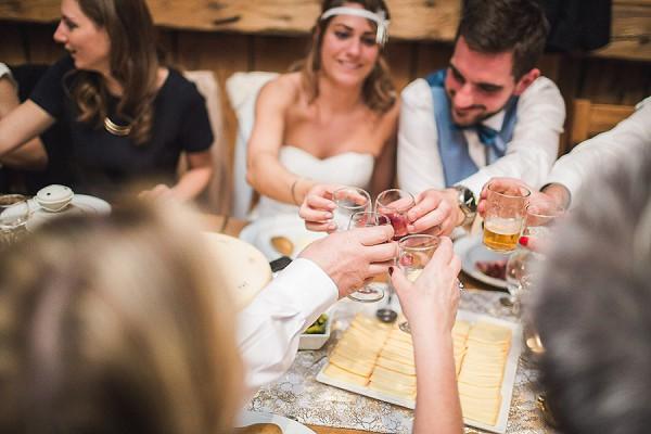 Raclette Wedding Dinner