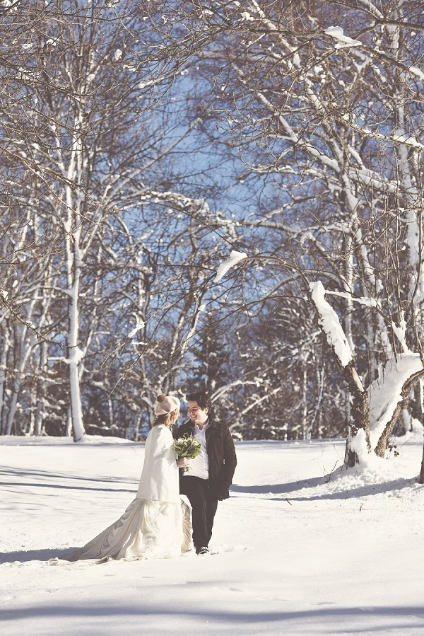 Romantic Wedding Snow