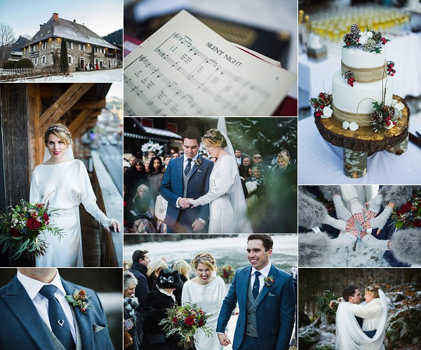 The Farmhouse Morzine Wintertime Wedding Snapshot