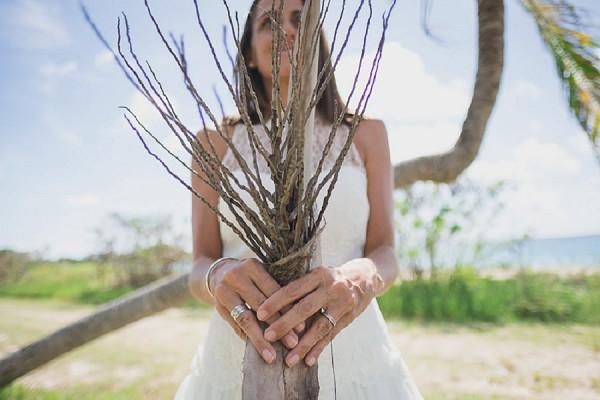 Tropical Destination French Wedding