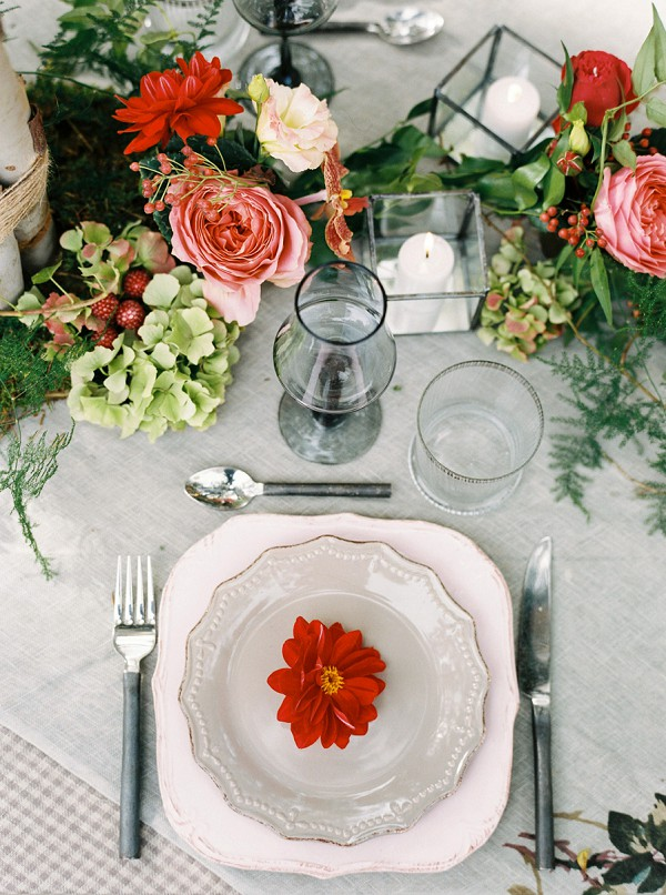 autumn floral arrangement