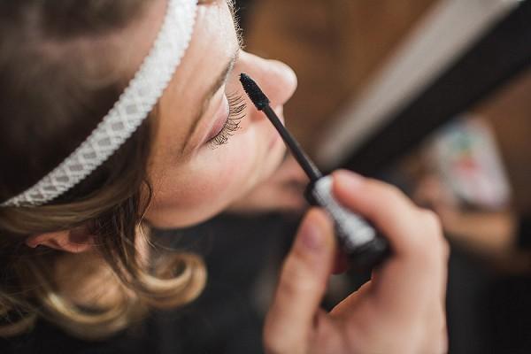bridal getting ready