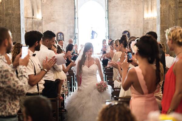 church french wedding